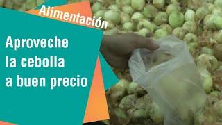 Aproveche la cebolla a buen precio para distintas preparaciones
