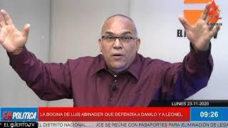 FUE BOCINA DE LEONEL, LUEGO DE DANILO Y AHORA DE LUIS ABINADER