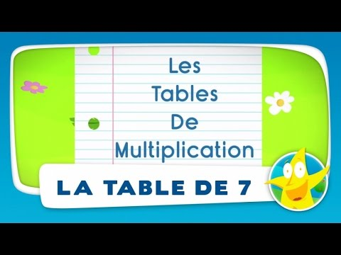 Download youtube mp3 les sept nains po sie avec la for Table de multiplication par 7