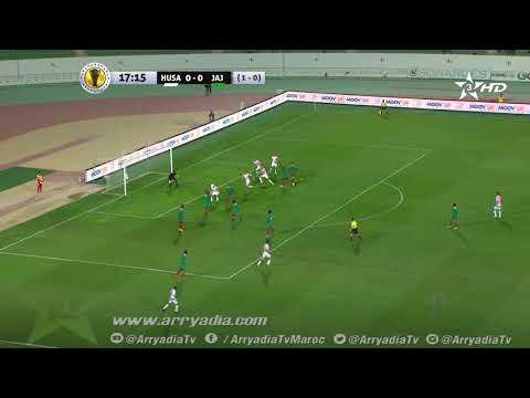 حسنية أكادير1 -0 جيما أبا جيفار هدف ياسين الرامي