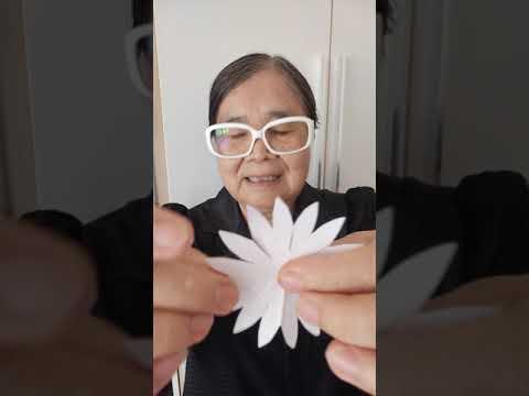 ดอกไม้จันทน์-เยบีร่า-จากกระดาษ