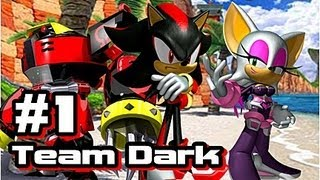 Let's Play Sonic Heroes - Team Dark - Part 1