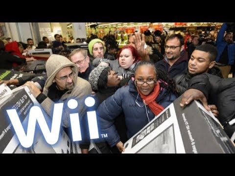 I put Wii music over Black Friday CHAOS
