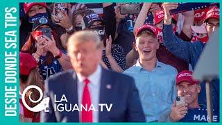 Desesperación demencial: ¡Trump acusó a Joe Biden de ser el candidato del castro-chavismo!