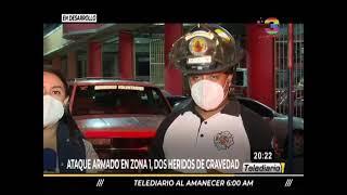 Ataque armado en zona 1 de Ciudad de Guatemala