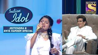 Jeetendra को Arunita की Singing लगी Brilliant   Indian Idol Season 12   Bollywood Mix Performances - SETINDIA