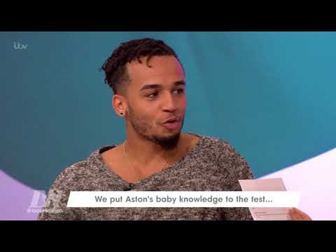 connectYoutube - Aston Merrygold Gets Quizzed on All Things Baby | Loose Women