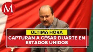Ce?sar Duarte es detenido en Estados Unidos
