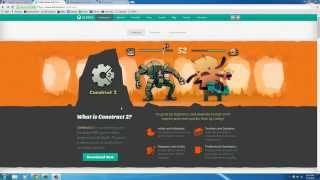 Game Development w/ Construct 2 Tutorial - 1 - Introduction