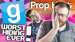 Gmod Prop Hunt - Worst Hiding Ever! (Garry's Mod Funny Moments)