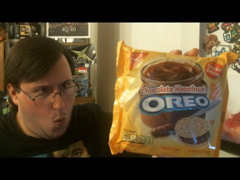 connectYoutube - Gor Eats a Food: Hazelnut Chocolate Oreo's