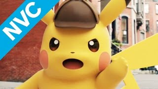 Solving Crimes With Detective Pikachu By Your Side - NVC