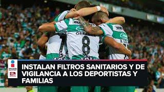 Ocho futbolistas de Santos Laguna dan positivo a Covid-19