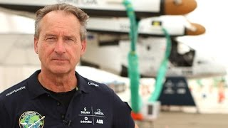 Chatting with the pilot of the Solar Impulse 2 solar-powered airplane