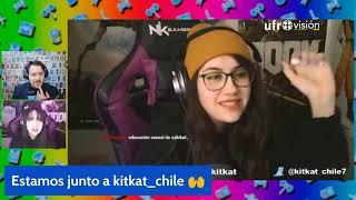 Charlando piola: Entrevista a streamer kitkat_chile | FRIKINAUTAS