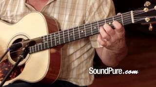 Boucher Bubinga OM Hybrid Acoustic Guitar