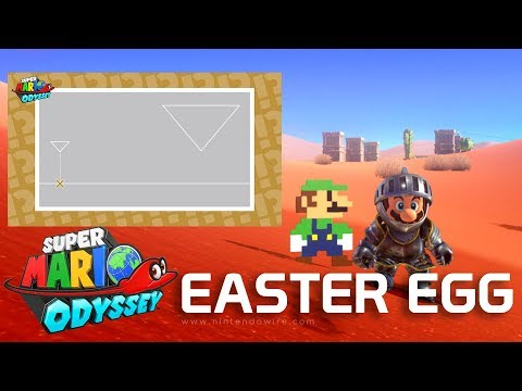 connectYoutube - New Hint Art Easter Egg in Super Mario Odyssey