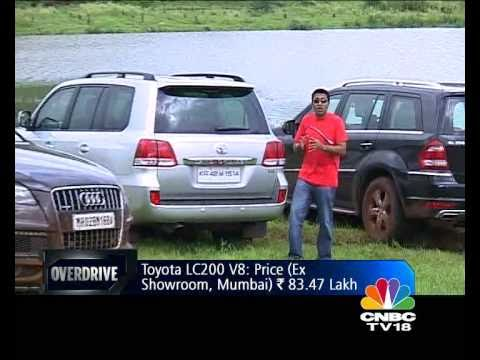 Merc GL vs Audi Q7 vs Toyota Land Cruiser on OVERDRIVE - Toyota Videos