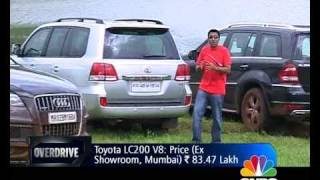 Merc GL vs Audi Q7 vs Toyota Land Cruiser on OVERDRIVE - Toyota Videos