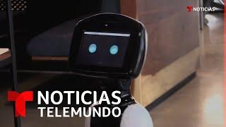 Este robot hecho en México es capaz de detectar casos de coronavirus | Noticias Telemundo
