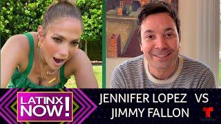 Jennifer Lopez y Jimmy Fallon tuvieron divertido duelo de baile | Latinx Now! | Entretenimiento
