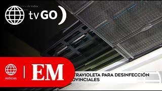 Edición Mediodía: Utilizan rayos ultravioleta para desinfección en buses interprovinciales (HOY)