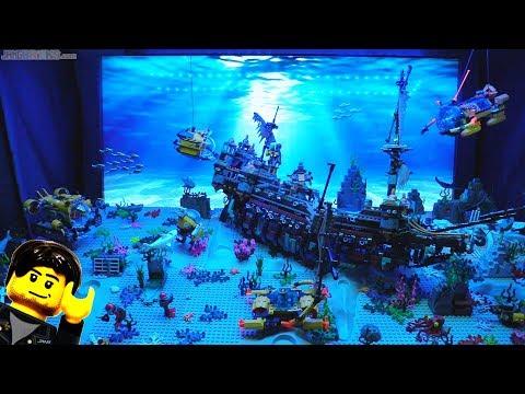connectYoutube - Undersea LEGO update: TV backdrop & sound! Jan. 15, 2018