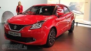Frankfurt Motor Show 2015: India-bound Suzuki Baleno unveiled