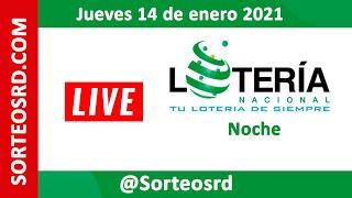 Lotería Nacional EN VIVO ? Jueves 14 de enero 2021 – 6:00 P.M.