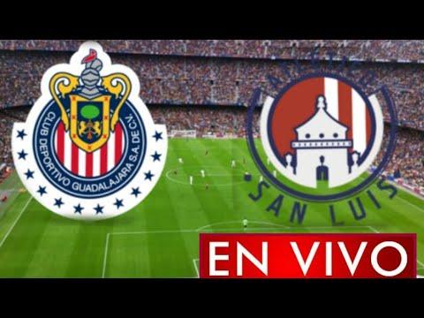 Donde ver Chivas vs. Atlético San Luis en vivo, por la Jornada 1, Liga MX 2021