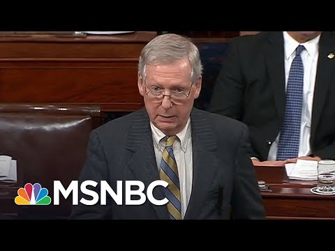 connectYoutube - Lawrence: With 'I Object,' Mitch McConnell Owns Shutdown's Worst Harms   The Last Word   MSNBC