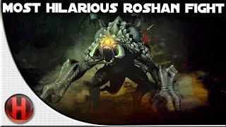 Dota 2 Fails - Most hilarious Roshan Fight