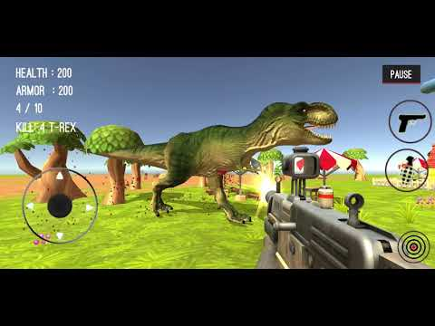 connectYoutube - Dinosaur Hunter Dino City 2017 #48 (Dinosaurs 33-35) - Android Gameplay