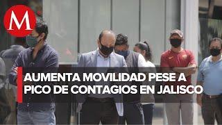 En un di?a, 322 casos y 16 muertes por coronavirus en Jalisco