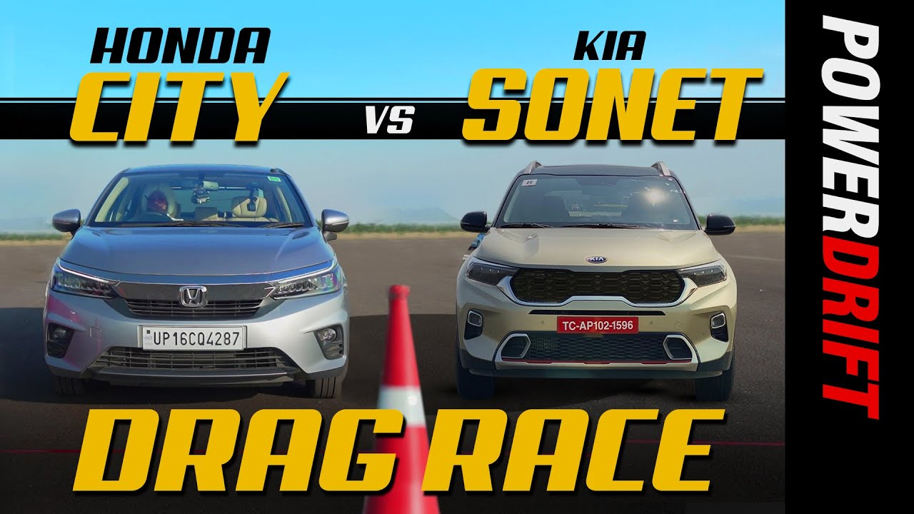 Honda City vs Kia Sonet | Drag Race | Episode 6 | PowerDrift