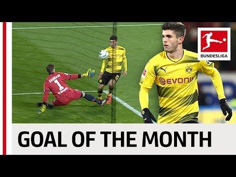 Christian Pulisic - December 2017's Goal of the Month Winner