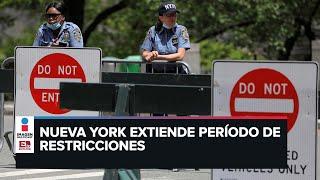 Cuarentena en Nueva York se extiende hasta junio