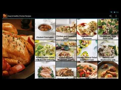 Easy healthy chicken recipes 15 download apk for android aptoide easy healthy chicken recipes video forumfinder Images