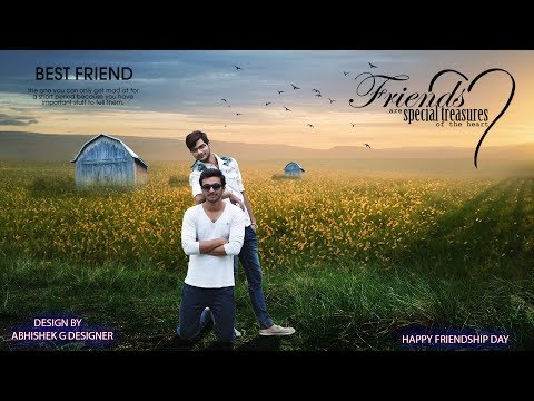Friendship Day Special | Photoshop Manipulation | Editing Tutorial