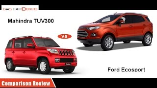 2016 Ford EcoSport vs Mahindra TUV3oo | Comparison Review | CarDekho.com  sc 1 st  CarDekho.com & Ford EcoSport Price (Check October Offers!) Review Pics Specs ... markmcfarlin.com