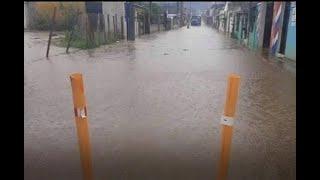 Socorristas en alerta ante emergencias por las lluvias