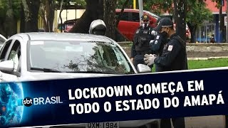 Covid-19: Amapá decreta bloqueio total de atividades em todo estado | SBT Brasil (19/05/20)