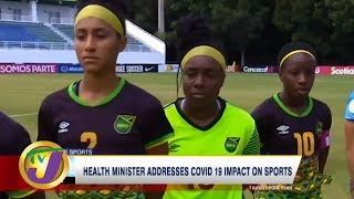 TVJ Sports: Health Minister Addresses COVID-19 Impact on Sports - March 2 2020