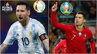 MESSI en Copa América vs CR7 en la Eurocopa 2020. ¿Quién tendrá el mejor torneo   Futbol Picante