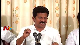 Revanth Reddy Press Meet over Sarees Distributed in Bathukamma Saree Scheme