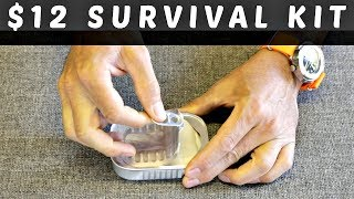 What's Inside A $12 Survival Kit