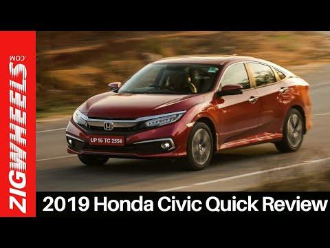 2019 Honda Civic Review | Is Hondas Hero Back? | ZigWheels.com Video - 4334