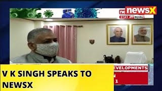 V K SINGH SPEAKS TO NEWSX | #IndoChinaFaceoff | NewsX - NEWSXLIVE