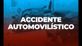 Dos personas heridas por accidente en Zona 18