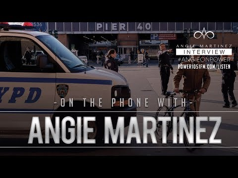 connectYoutube - BREAKING: Eyewitness Describes Violent Incident In Lower Manhattan To Angie Martinez